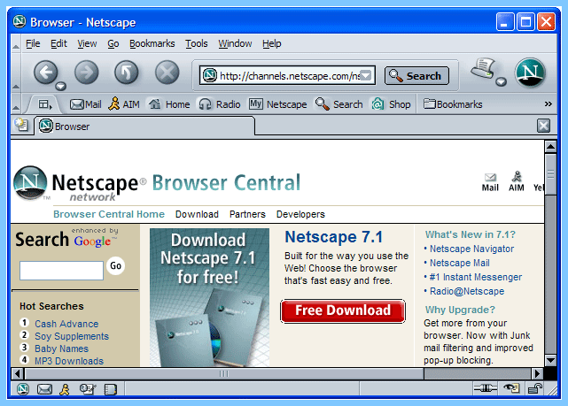 Old-Version-Netscape