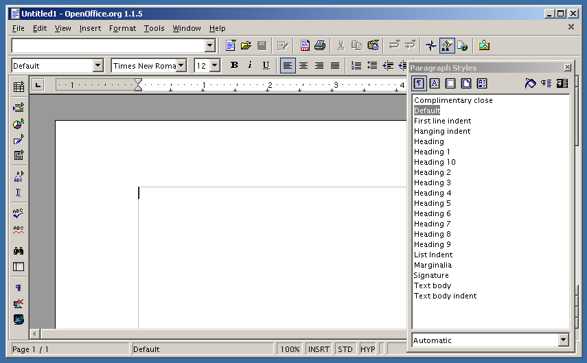 Old-Version-OpenOffice