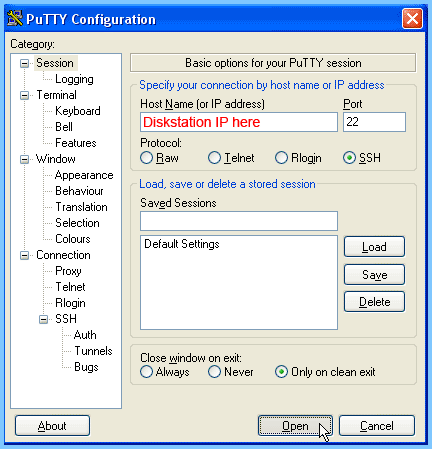 Old-Version-PuTTY