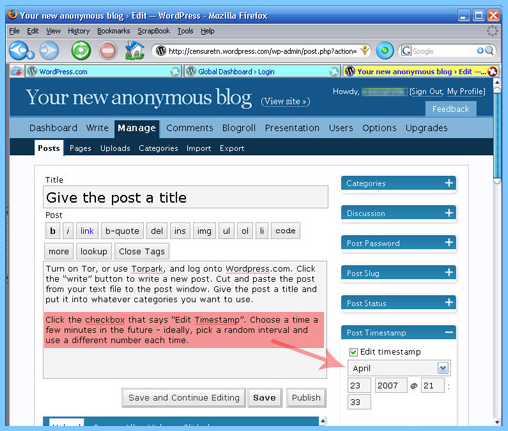Old-Version-WordPress