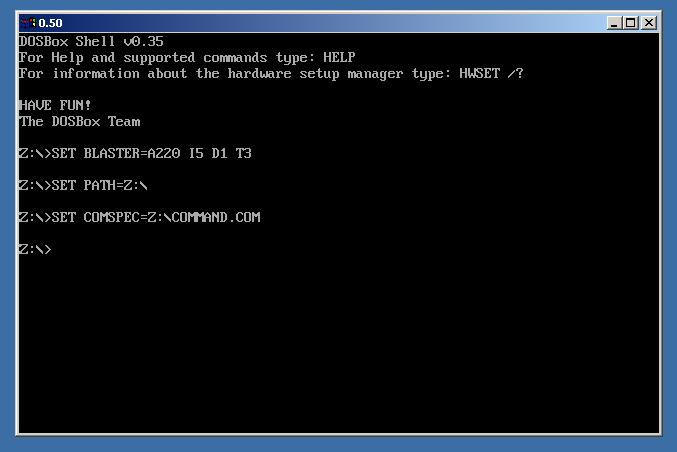 Old-Versions-DOSBox
